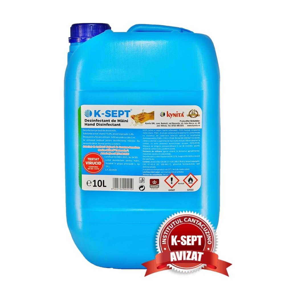 Dezinfectant de Maini K-SEPT 10L