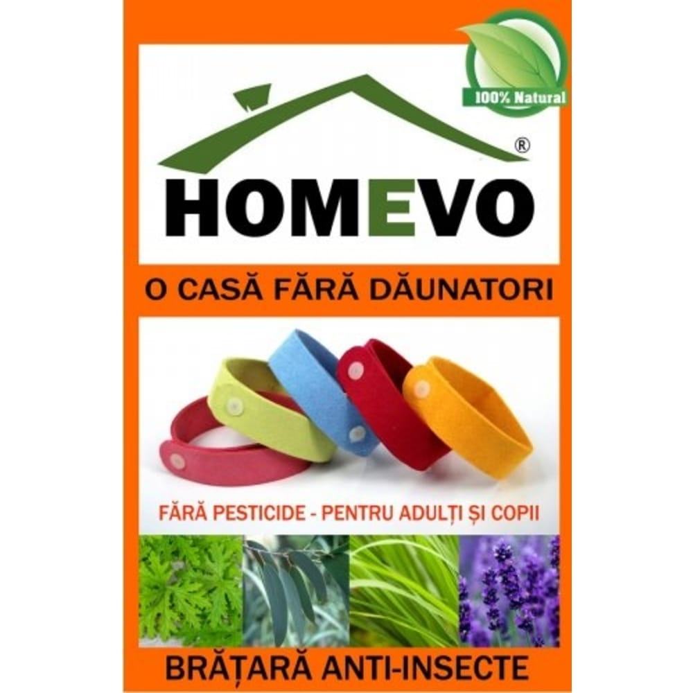 Homevo Bratara Anti-Insecte