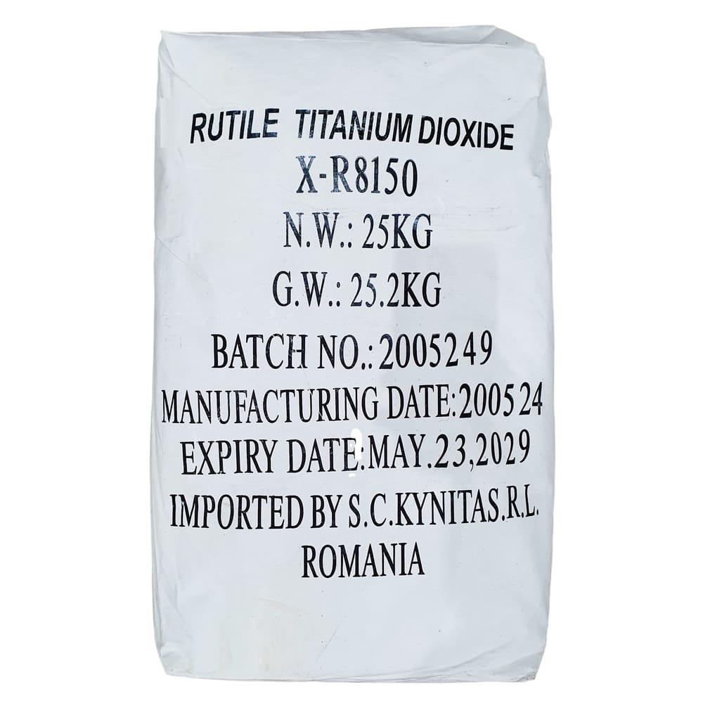 Dioxid Alb de Titan 25Kg