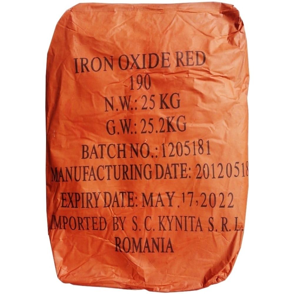 Oxid Rosu  de fier H190 25Kg