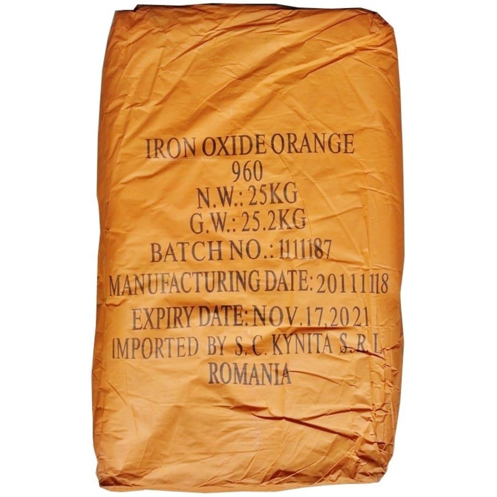 Oxid Orange De Fier 960 25 KG