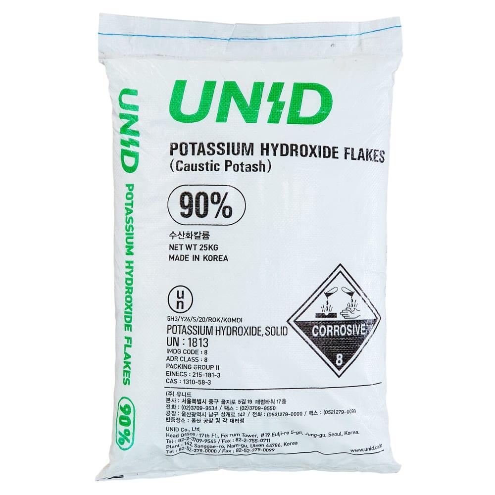 Hidroxid de potasiu sac 25Kg